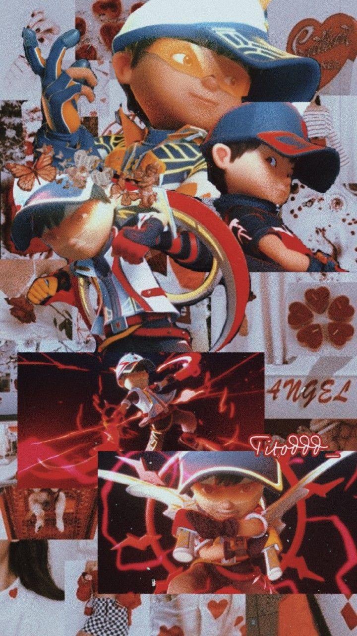 wallpaper Boboiboy Supra ,Mb Titod di 2020 Ilustrasi