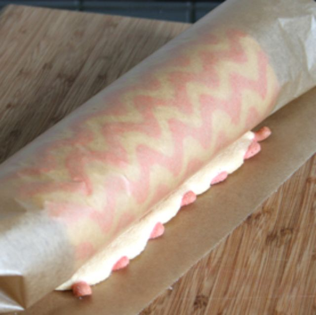 Learn How to Make a Patterned Cake Roll  2 - https://www.facebook.com/different.solutions.page