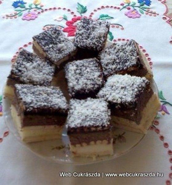 Tejbegrízes süti recept (sütés nélkül) | Gyors, egyszerű és nagyon finom!
