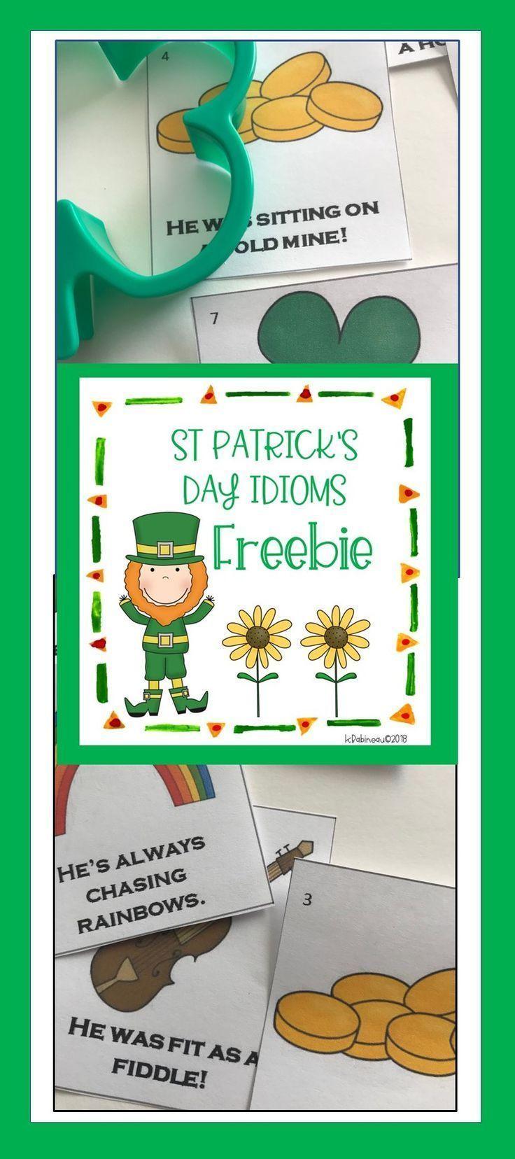 St. Patrick's Day Idioms in 2020 Idioms, Figurative