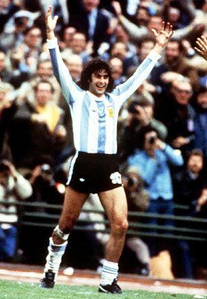 Mario Alberto Kempes - Seleccion Argentina de Futbol 1978 World Soccer Cup Championship