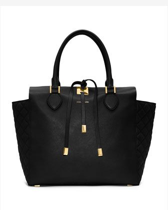Large Miranda Quilted Tote by Michael Kors at Neiman Marcus.