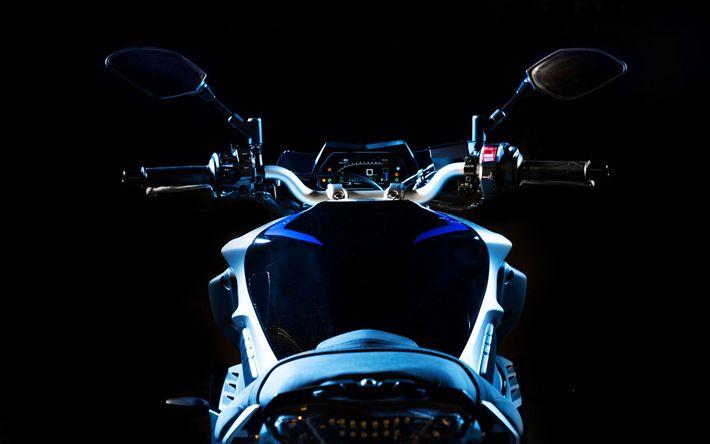 Download wallpapers Yamaha MT-10 SP, 2017 bikes, superbikes, new MT-10, japanese motorcycles, Yamaha