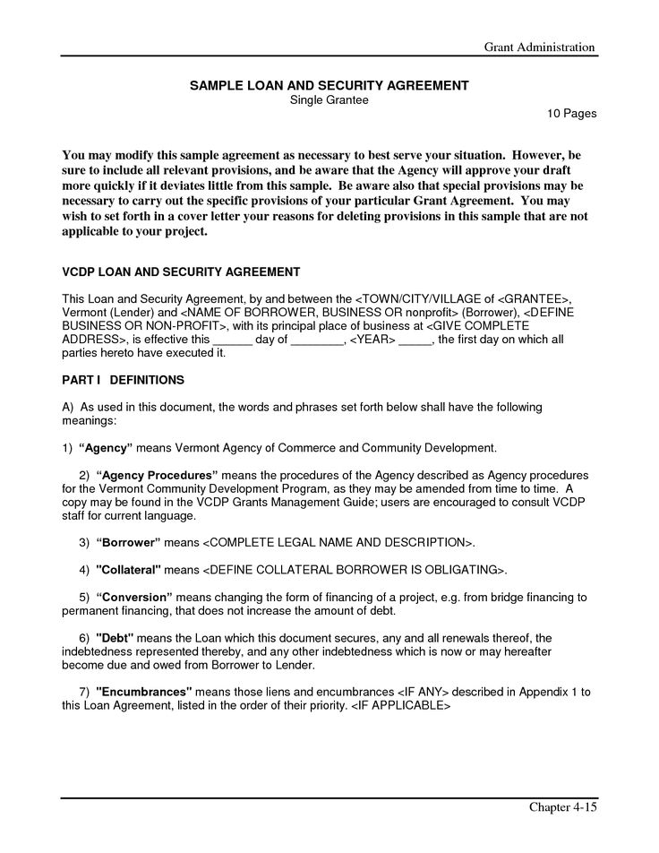 Company Loan Agreement Template Simple Interest Loan Agreement By - loan documents template