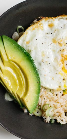 Rice Bowl with Avocado and Fried Egg recipe: Quite possibly the world's most perfect food…