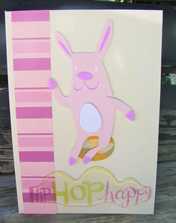 Hip Hop Happy  handmade card FWB easter card by RogueKissedCraft