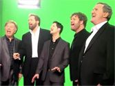 When the Gaither Vocal Band join together to sing a beautiful a capella rendition of the National Anthem, they create something beautiful. Their voices are amazing gifts from the Lord... you have to listen to this!