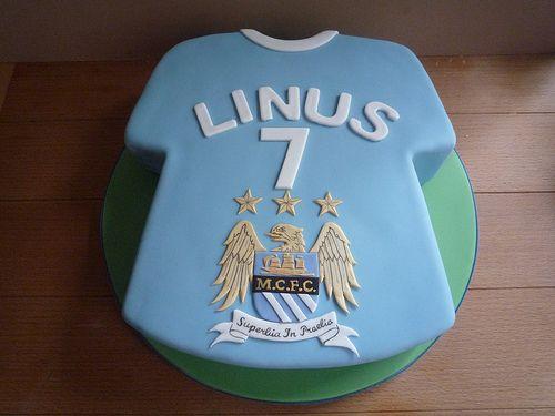 Man City Birthday Cake Images