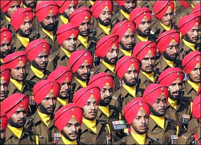 Sikh Regiment India ∆ India's Republic Day Parade