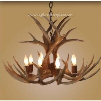 8 Light Large Mule Deer Antler Chandelier | Mule Deer Antler Chandelier |  Antler U0026 Hunting