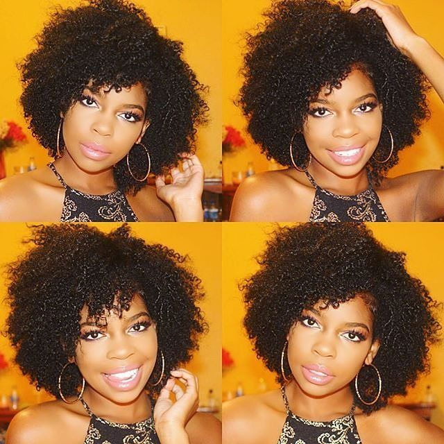 Curly natural hairstyles - so cute! http://www.shorthaircutsforblackwomen.com/hair-steamers-for-natural-hair/
