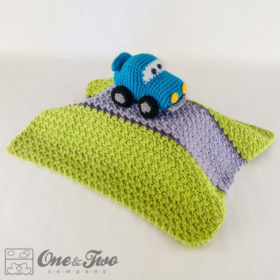 Racing Car Lovey / Security Blanket  PDF por oneandtwocompany, $3.99