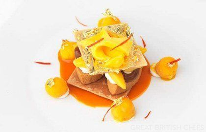 Caramel Mille Feuille Recipe With Mango & Chilli - Great British Chefs