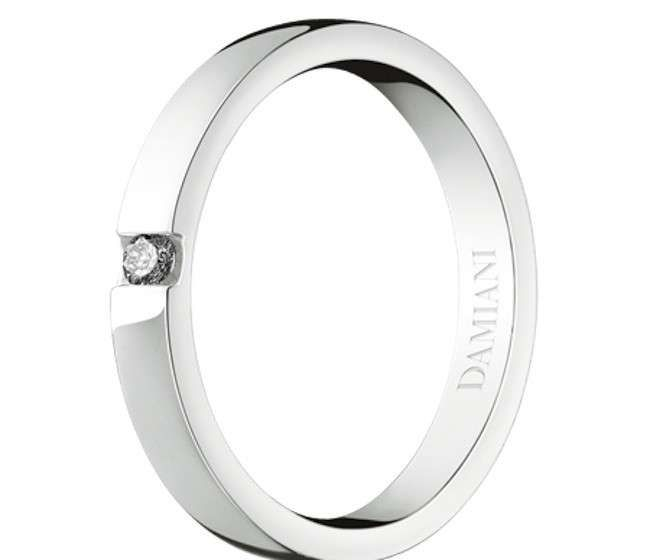 Fedi Damiani, Tiffany e Cartier - Damiani Vero amore in oro bianco