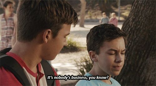 "S3 Ep1 ""Wreckage"" - ""It's nobody's business, you know?"" #Jonnor #TheFosters"