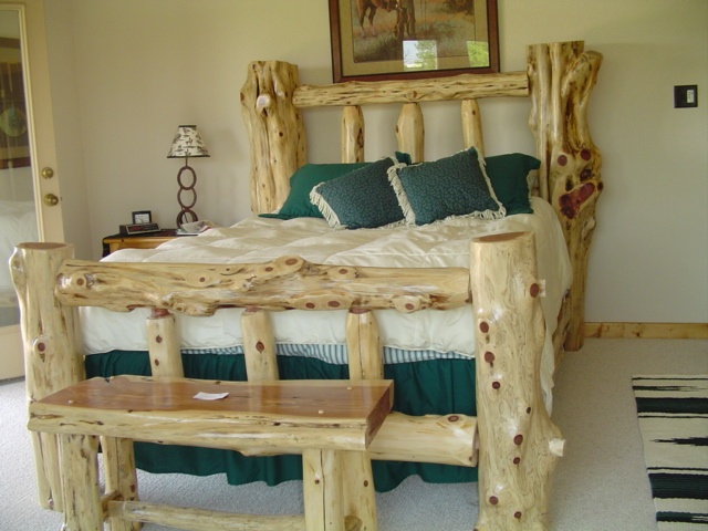 Know what is log furniture and how to use this type of wood furniture for  rustic home decor style? Also know popular rustic wood furniture.