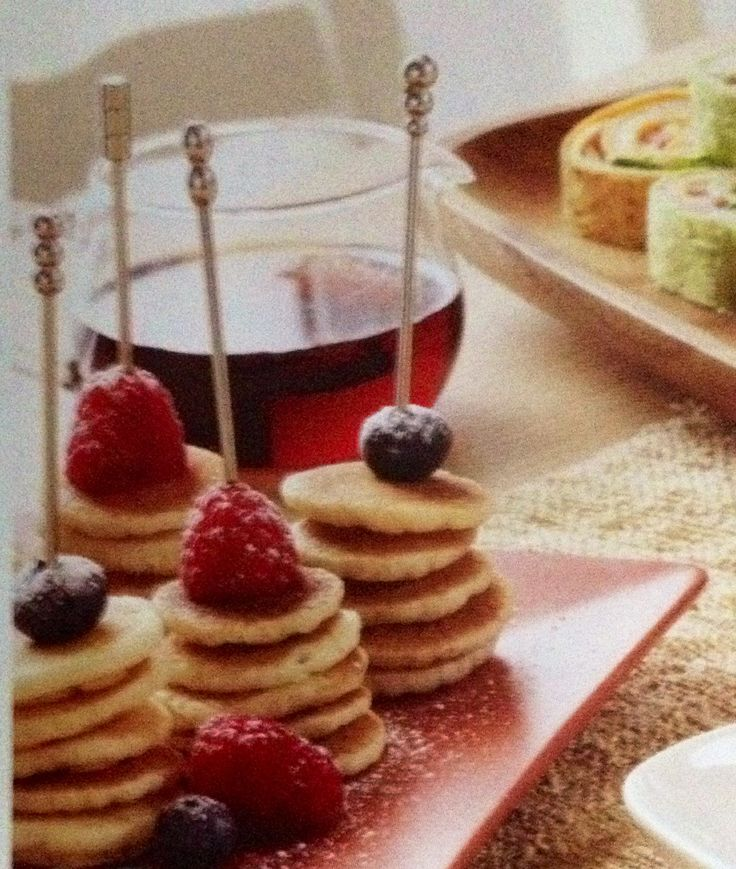 Brunch idee, met poffertjes