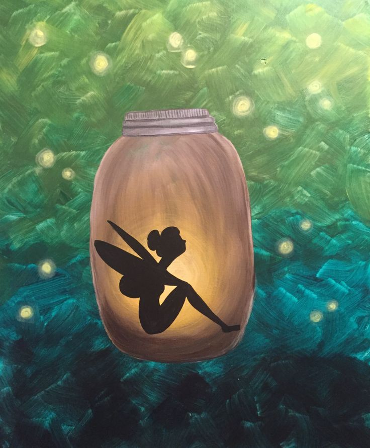 Paint and sip event catching fairies huntsville for Paint and sip cleveland