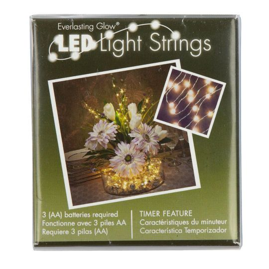 Battery Operated String Lights At Michaels : Light String by Ashland Everlasting Glow , 36