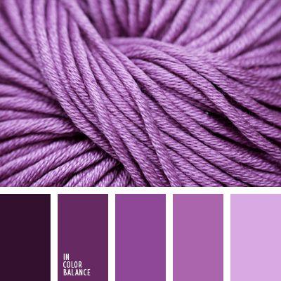 color púrpura, lila fuerte, lila pálido, paleta de colores monocromática, paleta del color malva monocromática, paleta del color violeta monocromática, púrpura claro, púrpura fuerte, púrpura oscuro, tonos lilas, tonos violetas.