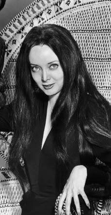 Caroline Jones. TV show 'The Addams Family'.