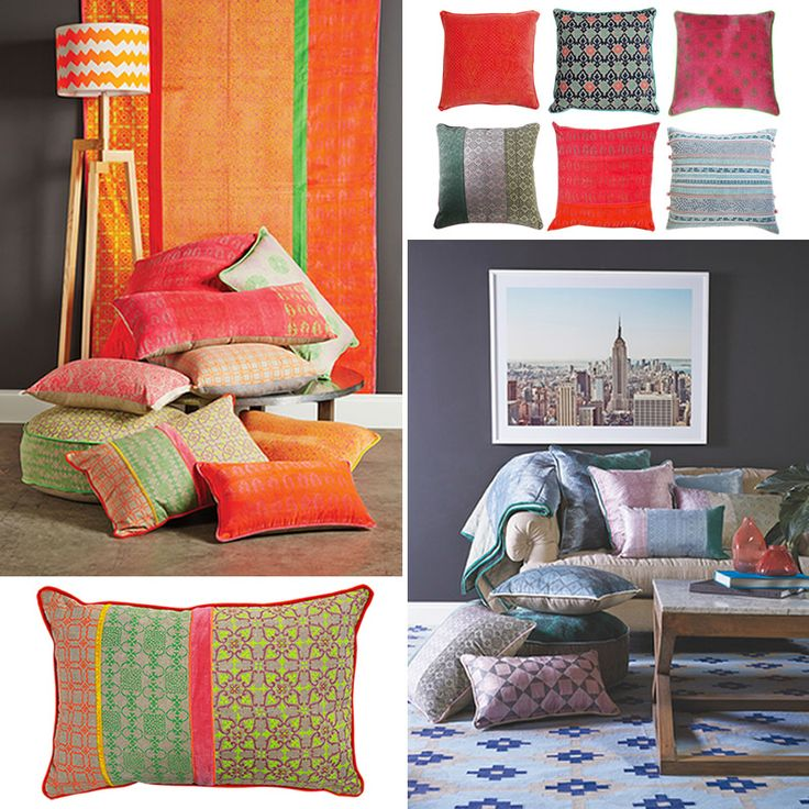 Textiled Cushions - Poppy's Home & Garden