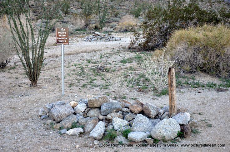 Anza-Borrego St. Pk. CA Trail head