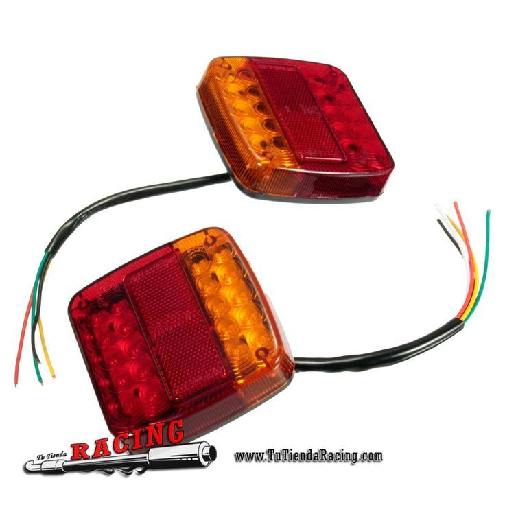 2X Luces de Frano Traseras con Intermitentes 20 LEDs para Camión Trailer Coche - 20,26€ - TUTIENDARACING - ENVÍO GRATUITO EN TODAS TUS COMPRAS