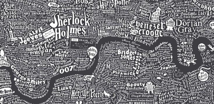 Чи далеко Холмс жив від Доріана Грея? Літературна карта Лондона | Видавництво Старого Лева