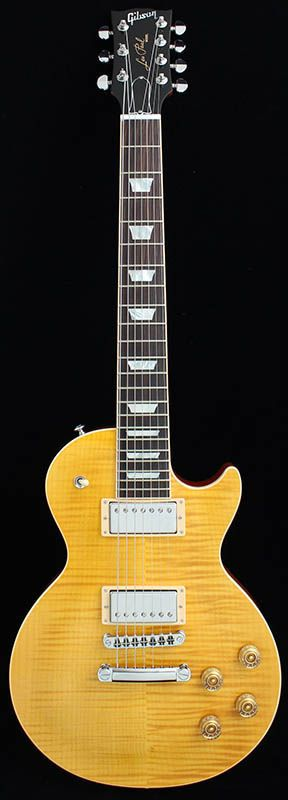 Gibson Les Paul Standard 7 String 2016 Limited Run Translucent Amber