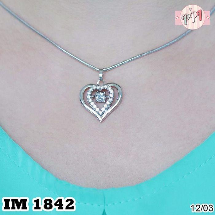 Jual Perhiasan Kalung Titanium Love Permata M 1842 - Pusat Perhiasan Imitasi   Tokopedia