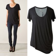 2014 new design pleat lady blank t-shirt designer clothing manufacturers in China  best seller follow this link http://shopingayo.space