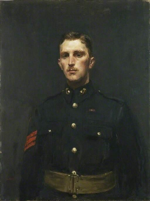 Sergeant Norman Augustus Finch (1890–1966), VC, Royal Marine Artillery