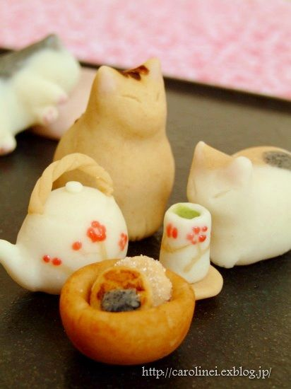 wagashi : cat