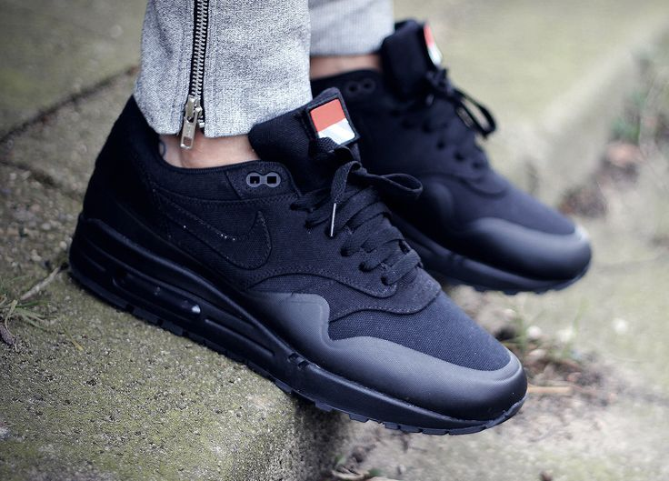 Nike Air Max 1 Patch Pack Black (by rom80)