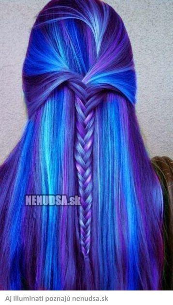 Nenudsa.sk - Modré vlasy