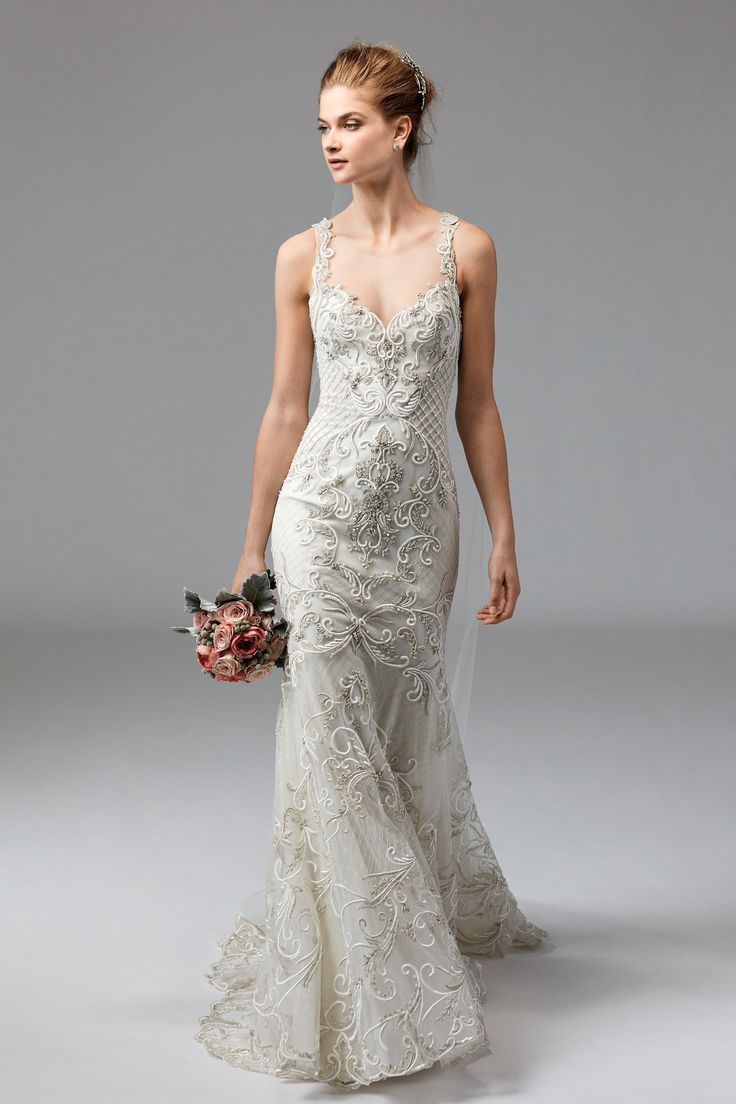 Lisa robertson in wedding dress - Watters Wedding Dresses Spring 2017
