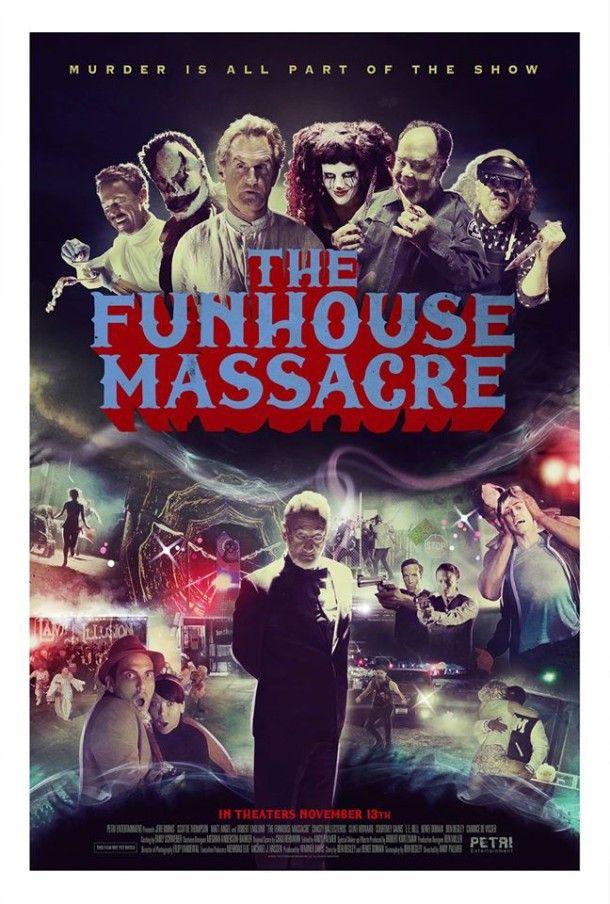 The Funhouse Massacre trailer: Ποιος άλλος θα μπει στο Σπίτι του Τρόμου; - Horrorant