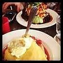 Betty Blue and the Lemon Tart.....Pancakes - it's a huge serve!