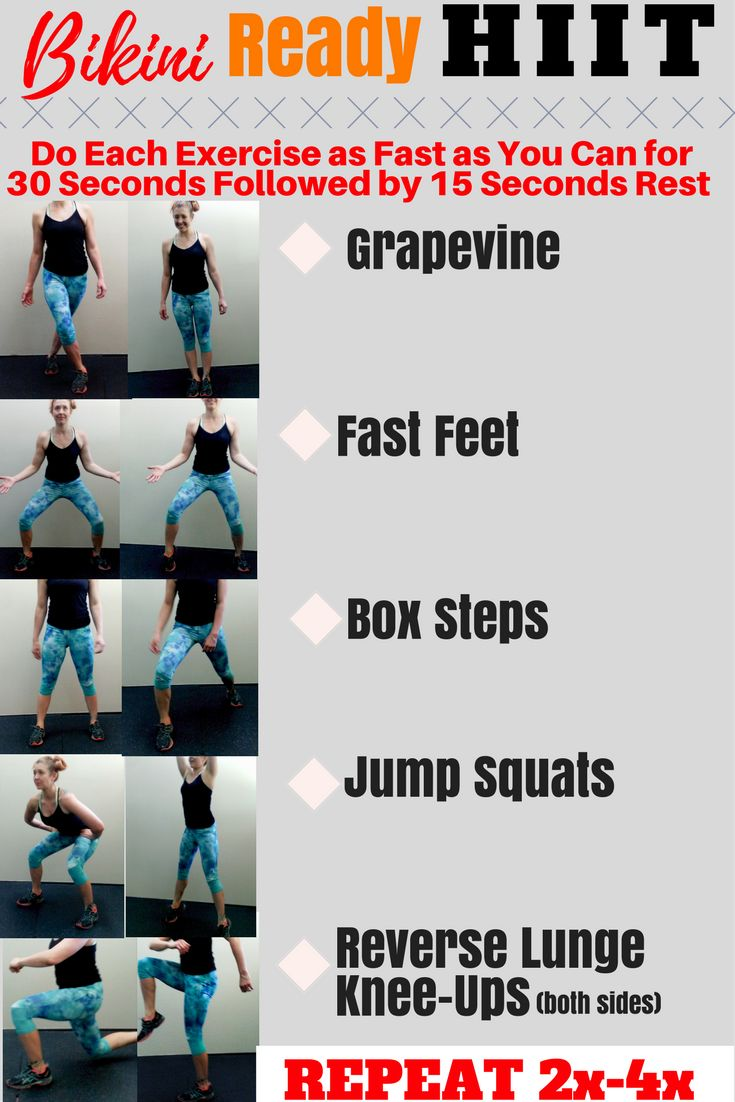 HIIT exercise is so effective and fast! This is a booty blasting, get you bikini ready for summer, high intensity interval training cardio workout! The webpage not only explains this quick routine in detail, but also outlines how to turn this HIIT into a dance party! This is a great exercise alone or amazing way to exercise with kids!