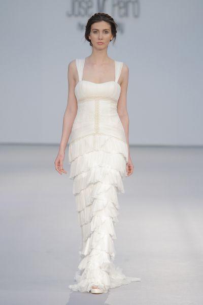 Vestidos de novia escote cuadrado 2017: Diseños que nunca pasan de moda Image: 8