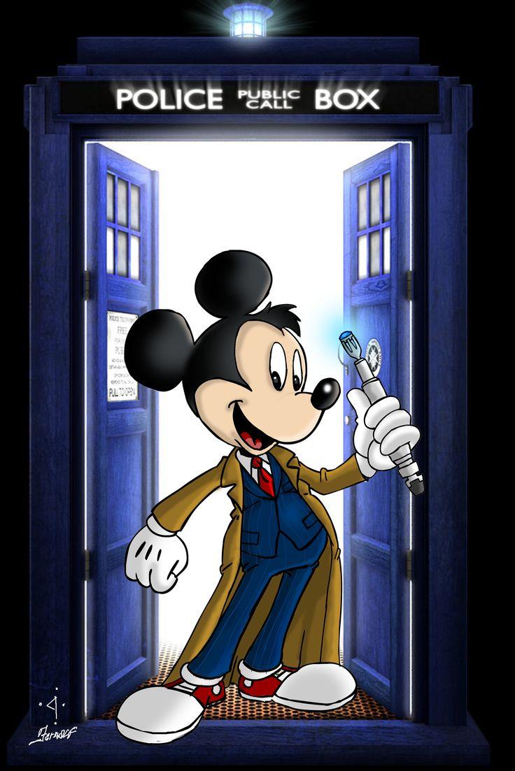 Tenth Doctor - Mickey by fernalf