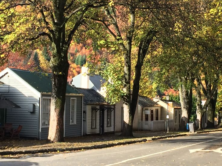 Beautiful Arrowtown in the autumn.