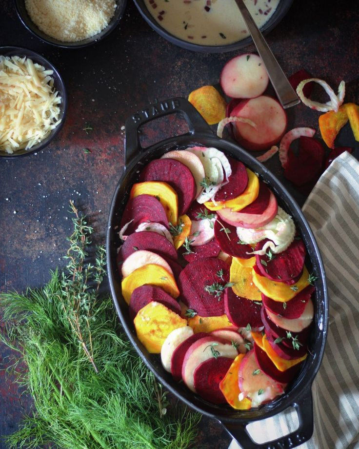 The farmer's market is currently filled with root vegetables and leafy greens. I have grown to love beets, and cannot imagine any week passing by without beets in my diet! I especially love them cu…