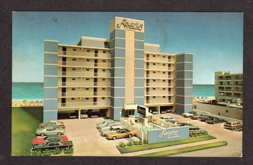VA Aquarius Motel Apartments VIRGINIA BEACH Postcard - bidStart (item 20088903 in Postcards... Virginia Beach)
