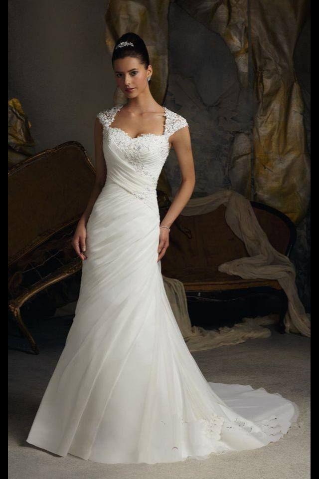 59 best vestidos d manta /novia images on Pinterest | Wedding ...