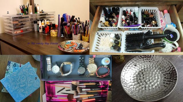 I am pretty happy with my current makeup/beauty storage. I store everything related to beauty/makeup/nails/hair in my vanity. It is easily accessible and visible to me which is key to me. So in today's post, I thought I will share with you 5 Affordable Beauty/Makeup Storage Ideas that work for me. M