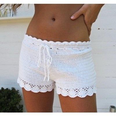 Inspiration - Crochet Shorts <3                                                                                                                                                     Más