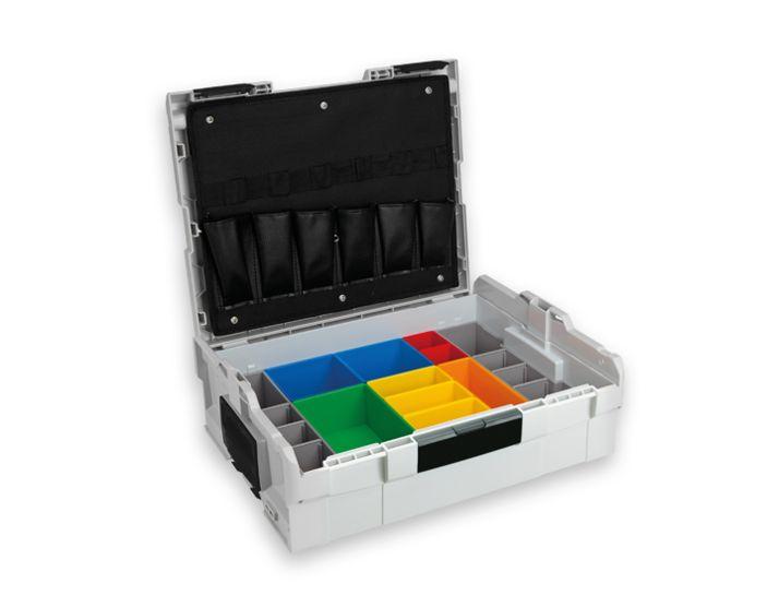 L-BOXX® 136 mit insertboxen  für Schrauben / Dübel / Kleinteile