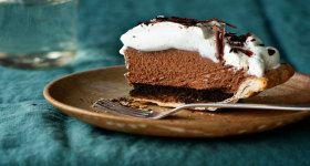 Mile-High Chocolate Pie | Pie - Tart - Galette (Sweet) | Pinterest ...